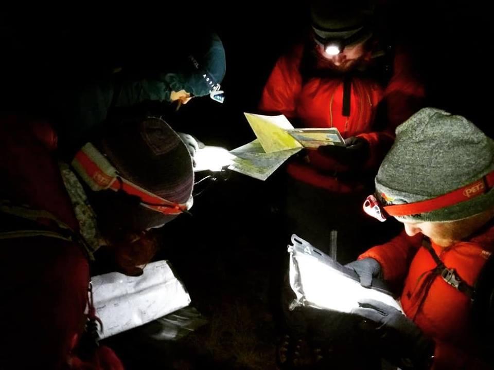 Night Navigation Workshop I Lakeland Mountain Guides