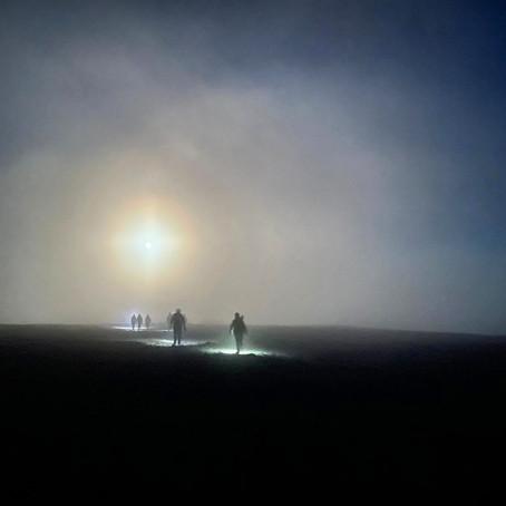 Yorkshire 3 Peaks at Night