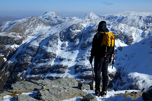 Private Guided Walking Winter I Lakeland Mountain Guides