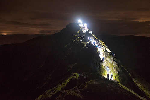 Striding Edge by Torchlight 2019