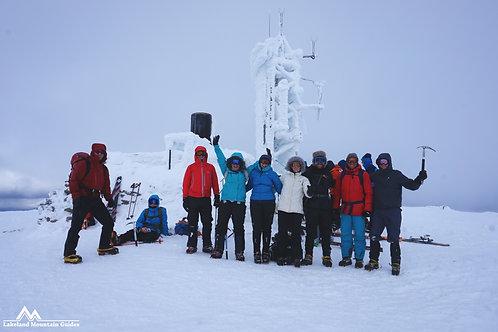 Scottish Winter Skills Course I Lakeland Mountain Guides