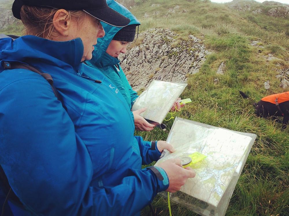 Basic Navigation Training Course I Lakeland Mountain Guides