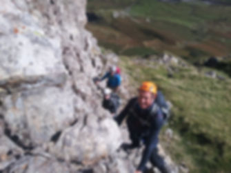 Security on Steep Ground & Scrambling Skills