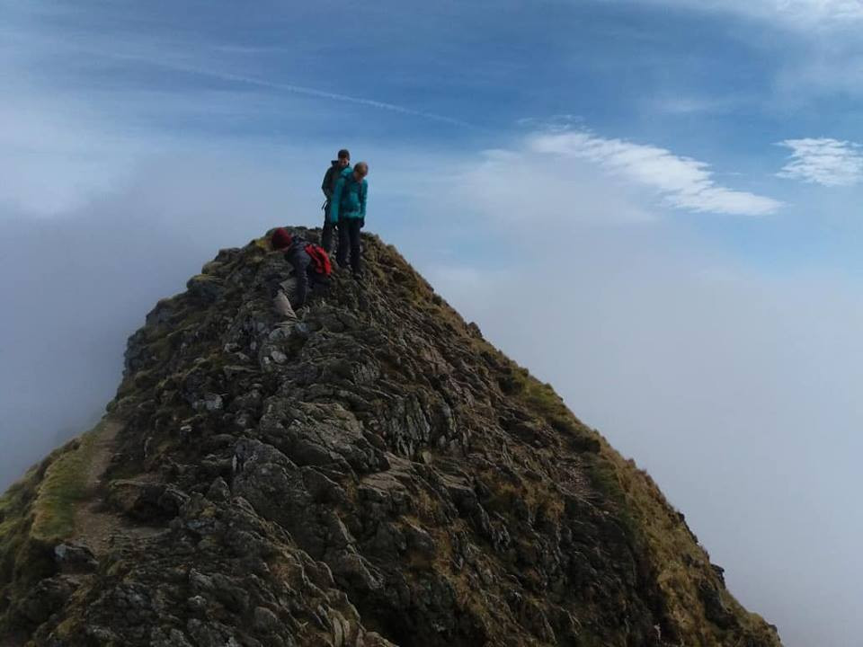 Helvellyn & Striding Edge Guided Walk I Lakeland Mountain Guides