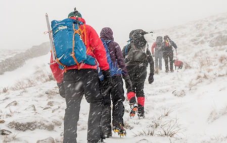 Four Day Winter Skills Course with Lakeland Mountain Guides I Photo By Carmen Norman