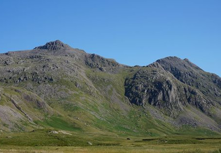 BBC on Scafell Pike