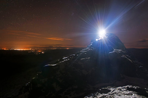 Striding Edge by Torchlight I Lakeland Mountain Guides