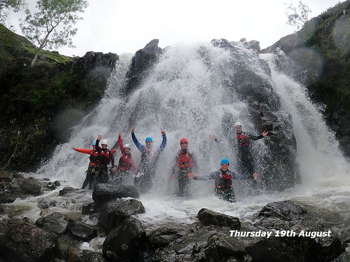 Lake District Ghyll Scrambling I Lakeland Mountain Guides