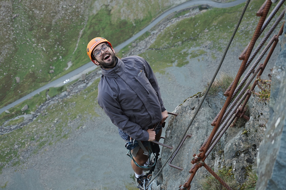 Via Ferrata Extreme with Lakeland Mountain Guides