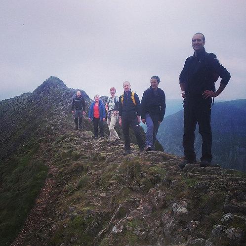 Helvellyn & Striding Edge Day Walk I Lakeland Mountain Guides