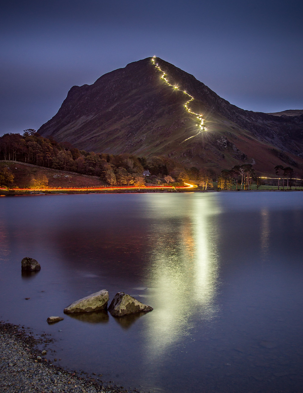 Fleetwith Pike Festival of Light - Tom Mcnally Photography