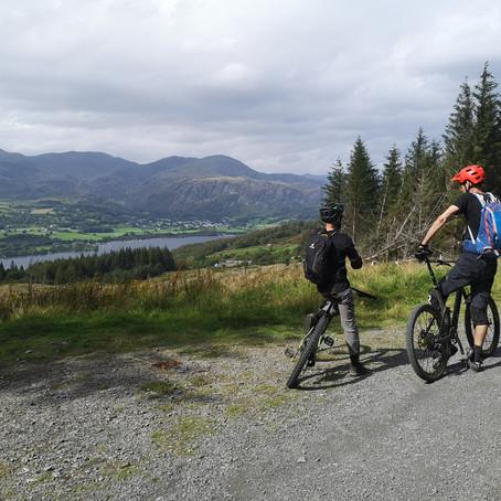 Lake District mountain bike guiding