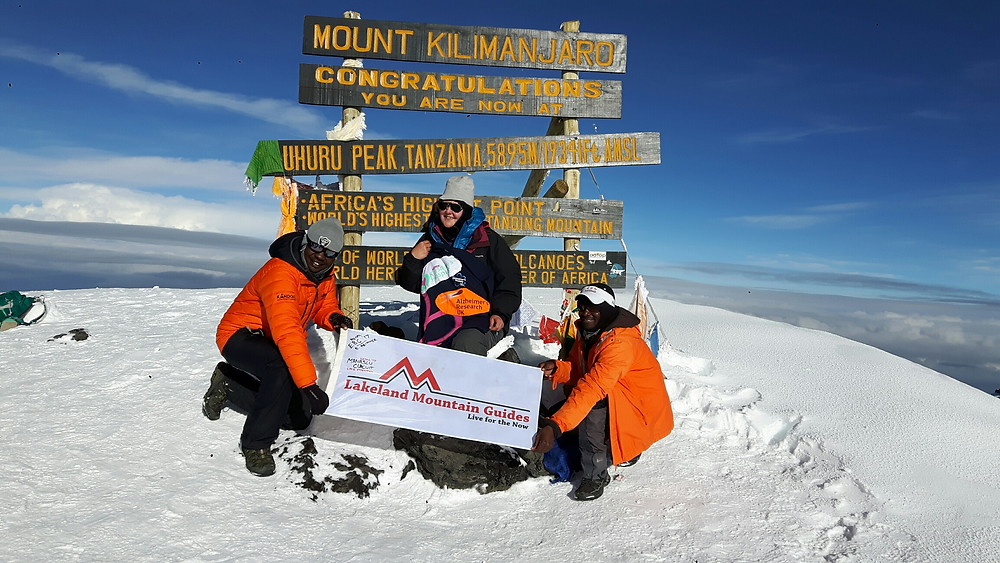 Success on Kilimanjaro!