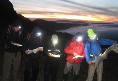 Night Navigation Training Course