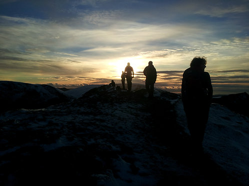 Grisedale Pike by Night - Hard Route