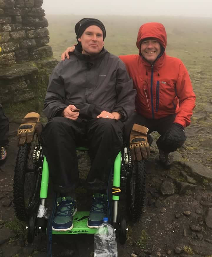 Mountain Trike on Ingleborough I Lakeland Mountain Guides
