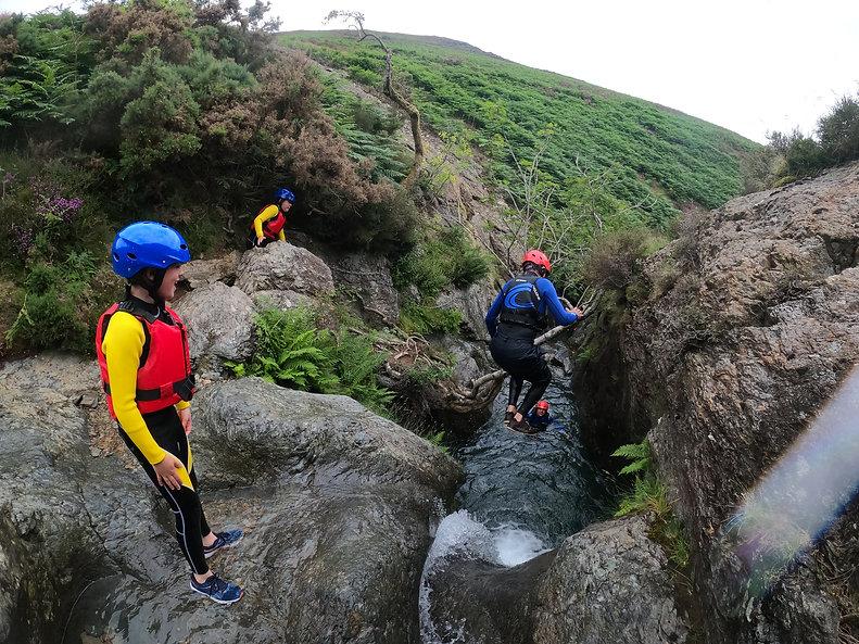 Lake District Ghyll Scrambling