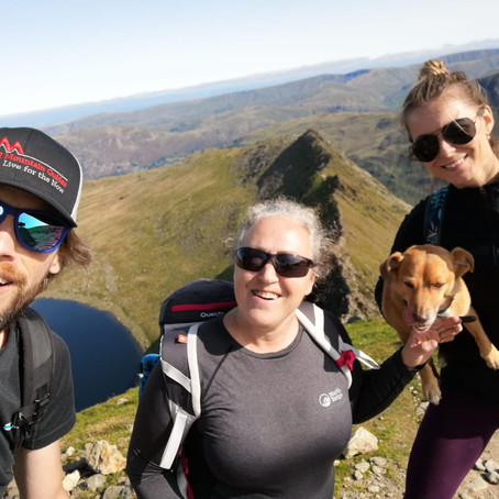 Helvellyn and Striding Edge Guided Walk