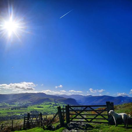 Cumbria Way Walking