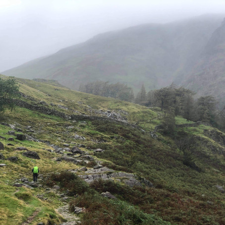 Scafell Pike from Seathwaite Guided Walk