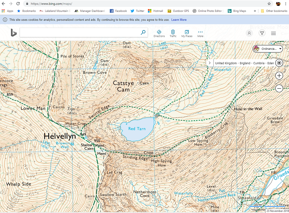 Bing Maps - Ordnance Mapping