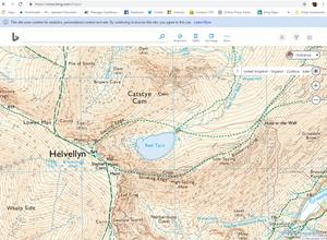 Bing Maps - Ordnance Mapping