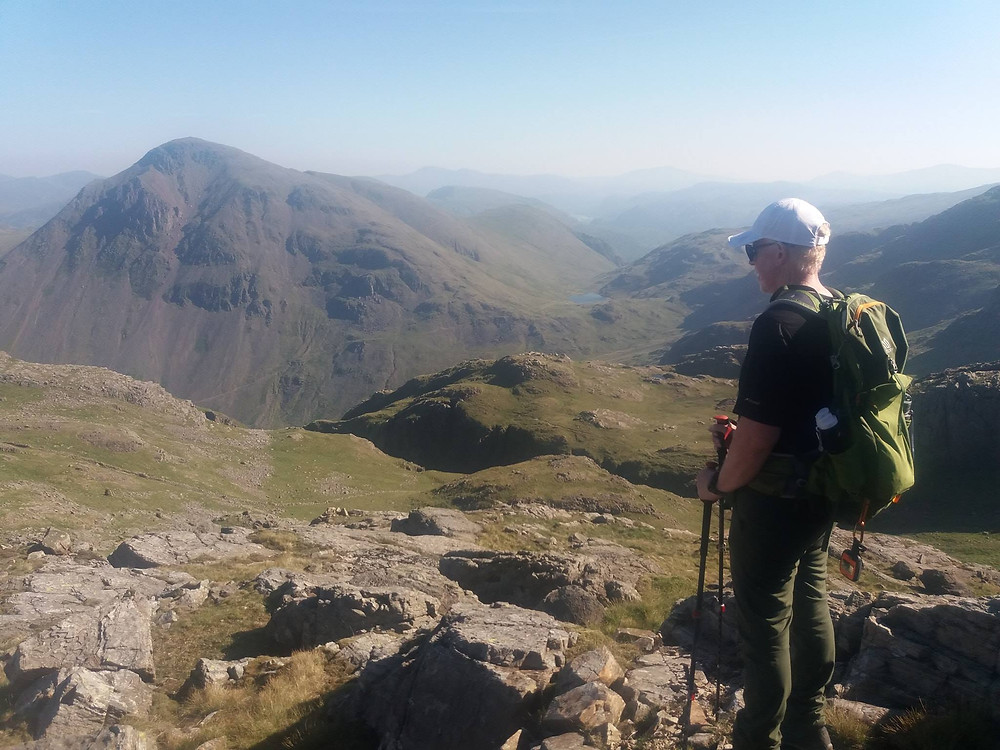 Scafell Pike from Seathwaite I Lakeland Mountain Guides