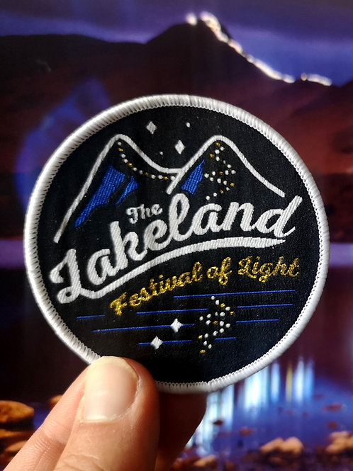 Lakeland Festival of Light Sew on Patch