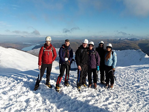 1 Day Winter Skills Course -Lake District