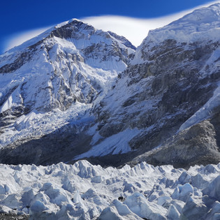 Everst and the Khumbu Ice Fall