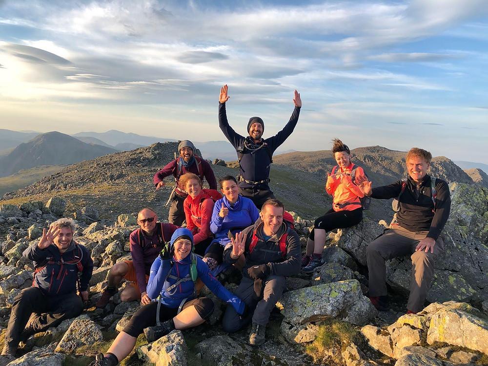 Lakeland 3000's Sunset Challenge I Lakeland Mountain Guides