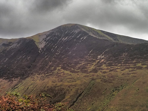 Grisedale Pike by Night - Moderate Route