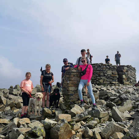 Scafell Pike from Wasdale Guided Walk