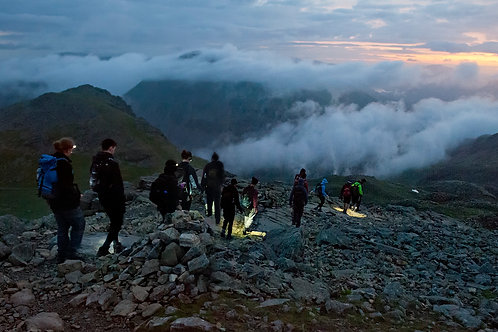 Scafell Pike Night Guiding I Lakeland Mountain Guides