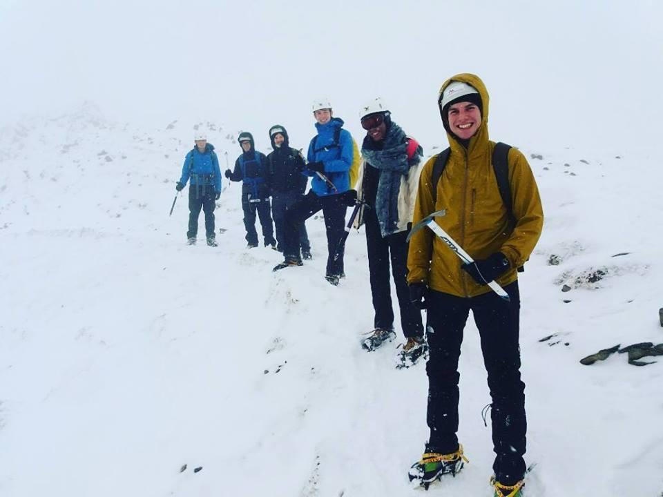 Durham Uni Winter Skills I Lakeland Mountain Guides