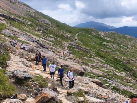 Snowdon Charity Hike
