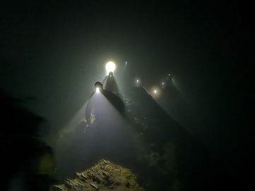 Striding Edge by Torchlight 2018