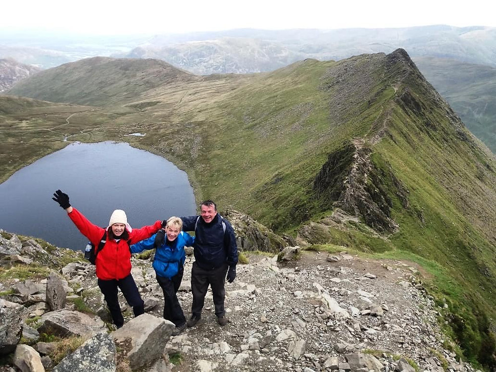 Helvellyn & Striding Edge I Lakeland Mountain Guides