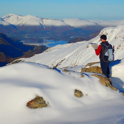 Winter Specific Navigation Training I Lakeland Mountain Guides
