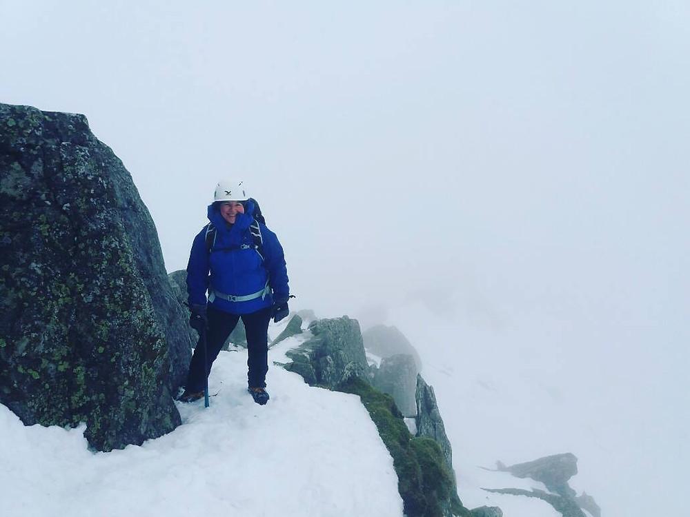 Swirrel Edge I Lakeland Mountain Guides