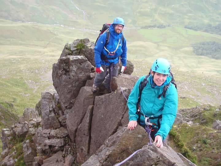 Pinnacle Ridge Scrambling Day I Lakelan Mountain Guides