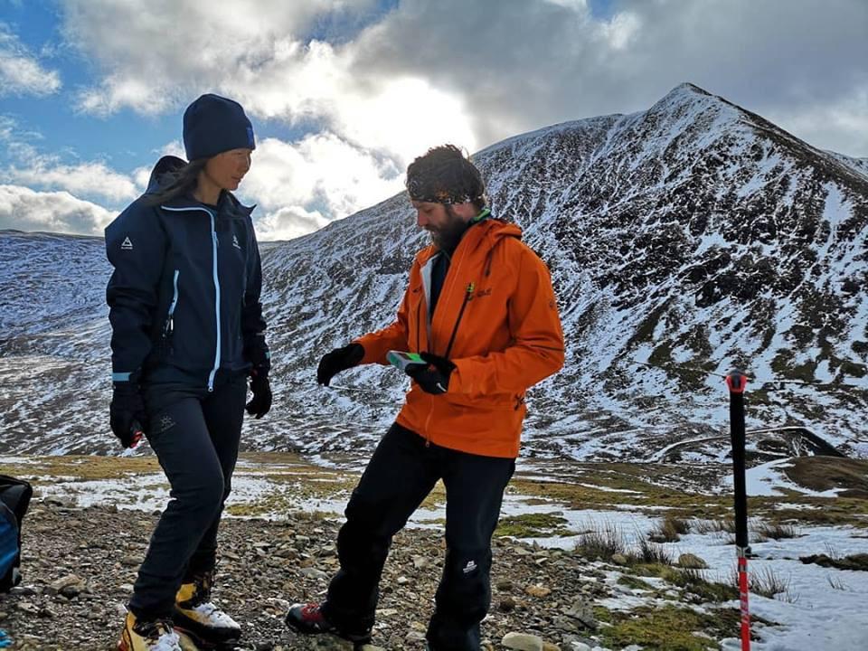 Winter Navigation Training I Lakeland Mountain Guides