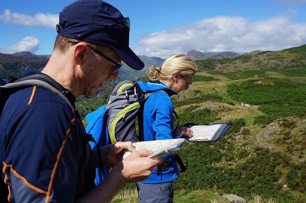 Basic Navigation Training I Lakeland Mountain Guides
