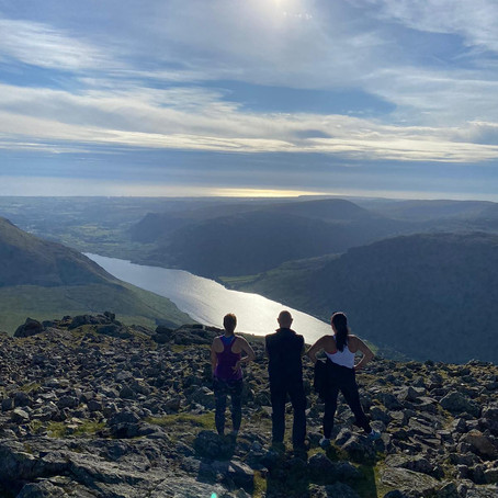 Scafell and Scafell Pike Guided walk