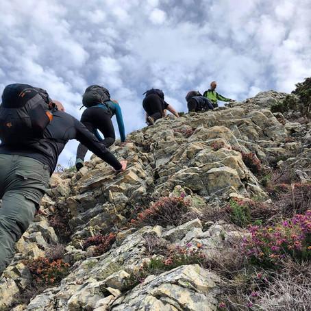 Scrambling in Snowdonia