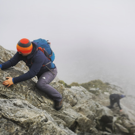 Guided Tryfan Scramble