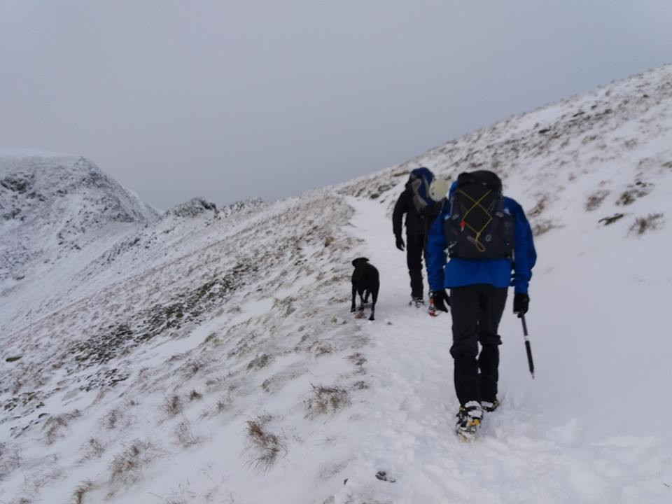 Winter Skills Training in the Lake District I Lakeland Mountain Guides