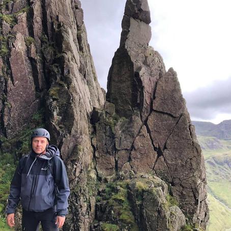 Napes Needle Rock Climbing