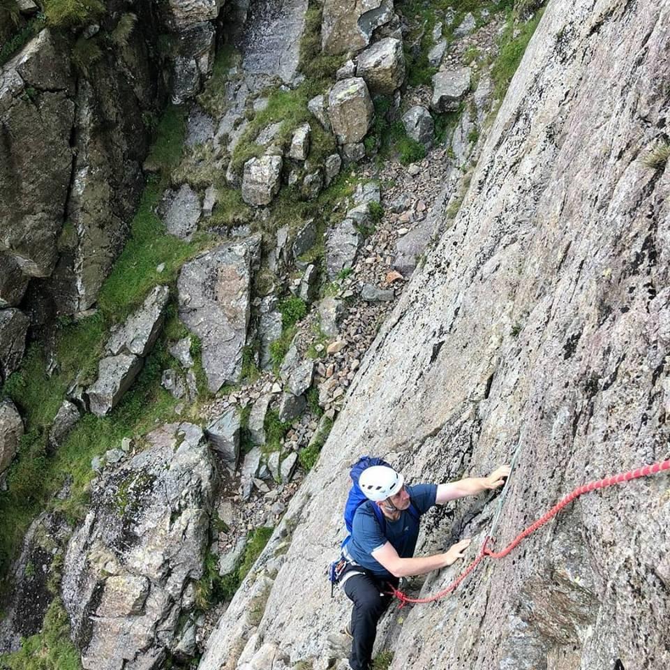 Multipitch Climbing I Lakeland Mountain Guides