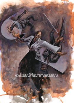 Osensei vs Ninjas